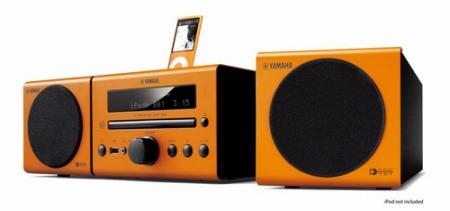 Mini sistemas Yamaha con reproducción inalámbrica de audio 1