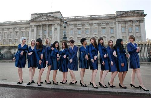 Estudiantes de arte imitan a Kate Middleton 1