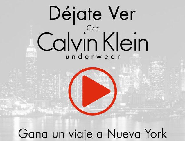 Atrévete y Déjate Ver con Calvin Klein Underwear 1