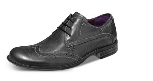 Zapatos vintage gris de Schatz 9