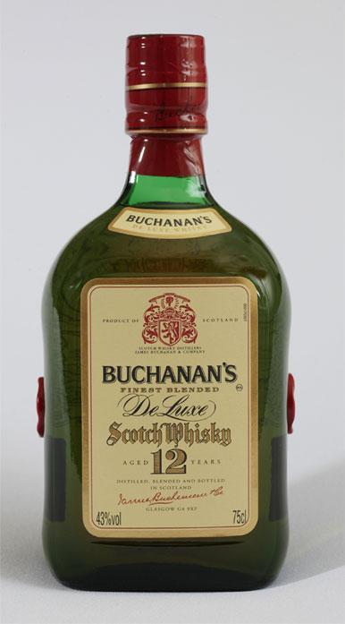 Buchanan's DeLuxe es un whisky con 12 años de añejamiento 1