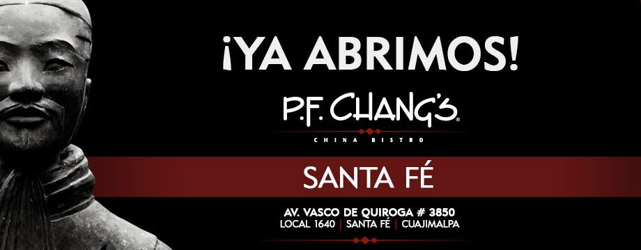 Pf Chang's llega a Santa Fe 3
