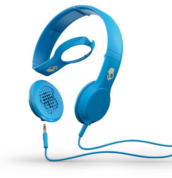 Música con estilo: audífonos Skullcandy Cassette 2