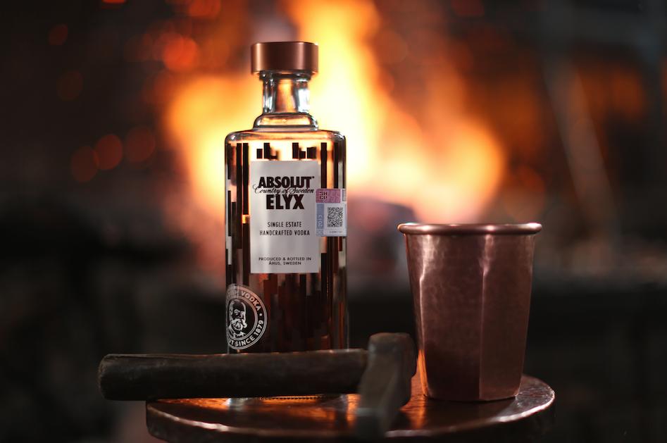 Botella y vaso ELYX