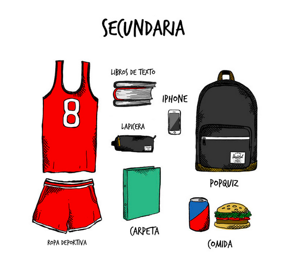 Herschel Supply Secundaria