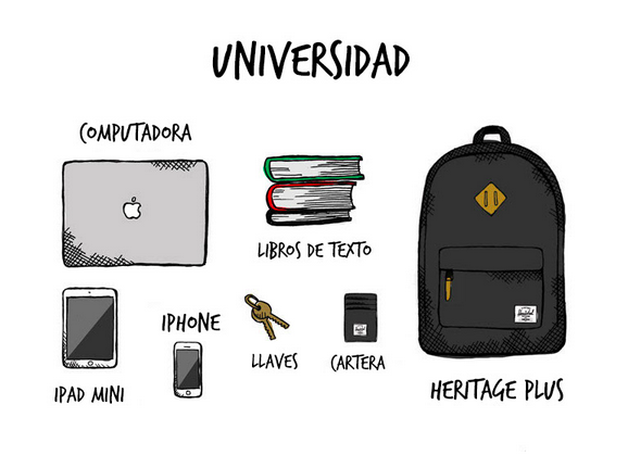 Herschel Supply Universidad