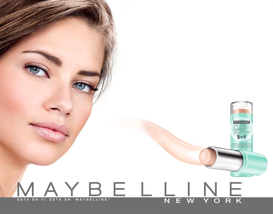 Nuevo Maquillaje en barra Pure 5 en 1 de Maybelline 1