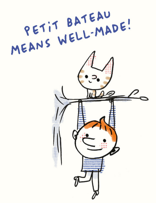 Rayas para los pequeños con Petit Bateau 1
