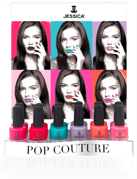 Jessica Nails Colección Primavera 2016: Pop Couture 3
