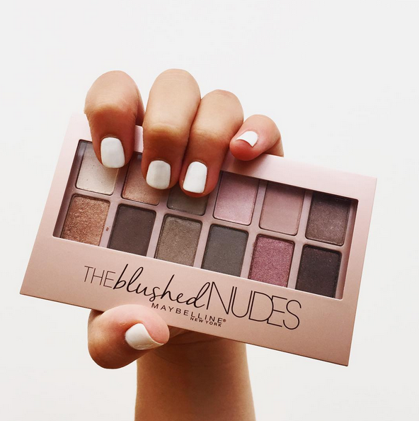 The Blushed Nudes de Maybelline 1