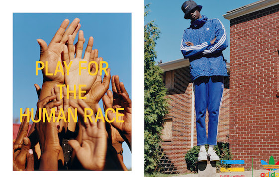 ADIDAS y Pharrell Williams celebran la diversidad cultural 1