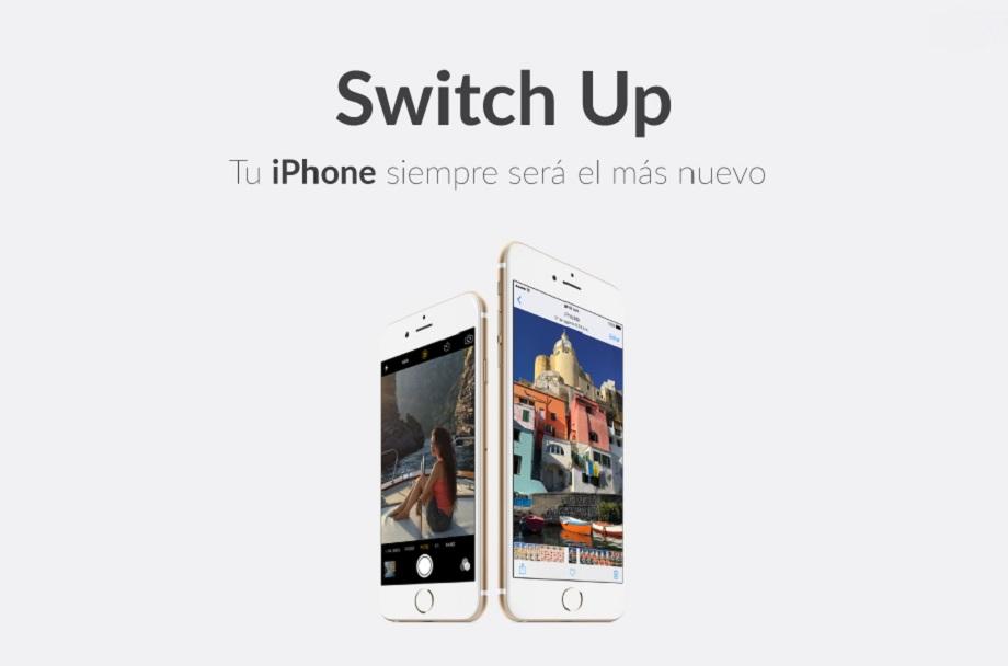 ¿Qué tal un plan para estrenar iPhone cada año? SwitchUp es la opción 3