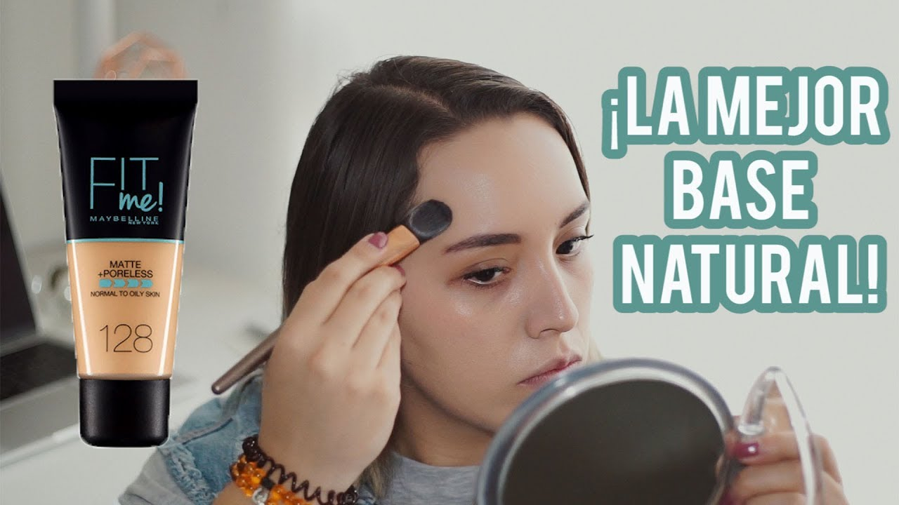 Fit Me de Maybelline, la mejor base de maquillaje con acabado natural del mercado 4