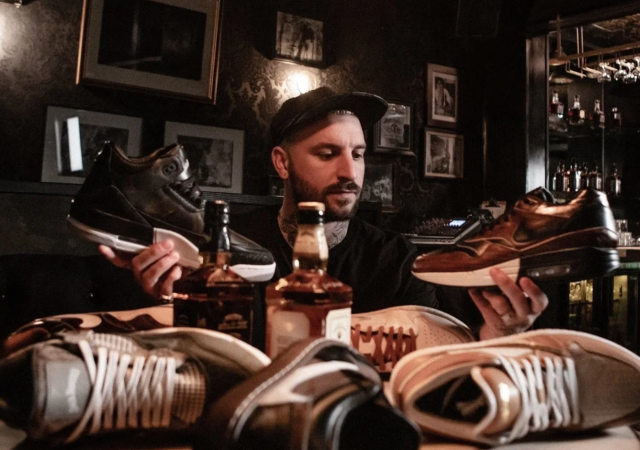 The Shoe Surgeon + Jack Daniel's Tennessee Old no.7 y Honey 2