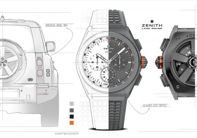 Una unión excepcional: Land Rover y Zenith 1