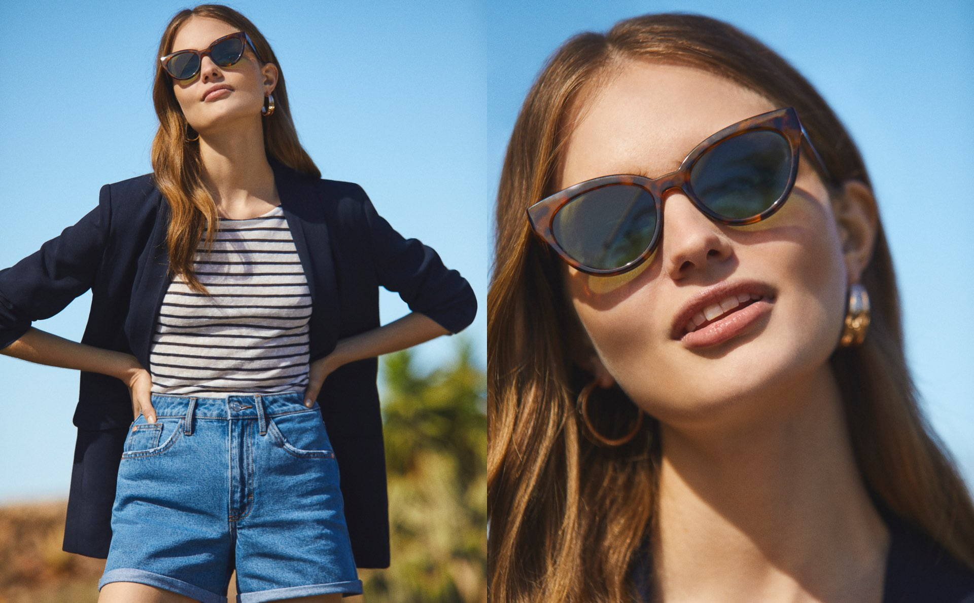 Blue Shades Lefties Woman Spring Summer 2020