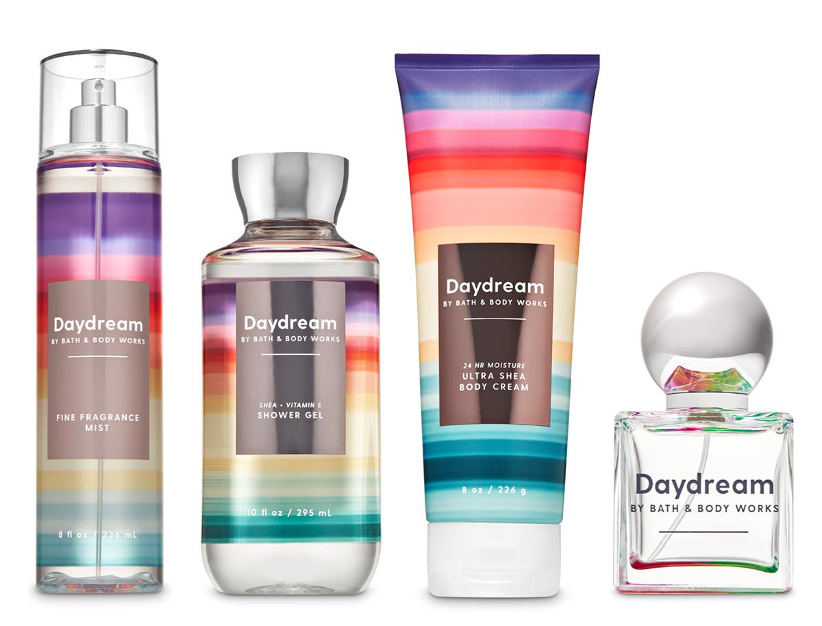 Daydream, la nueva línea alegre y brillante de Bath & Body Works