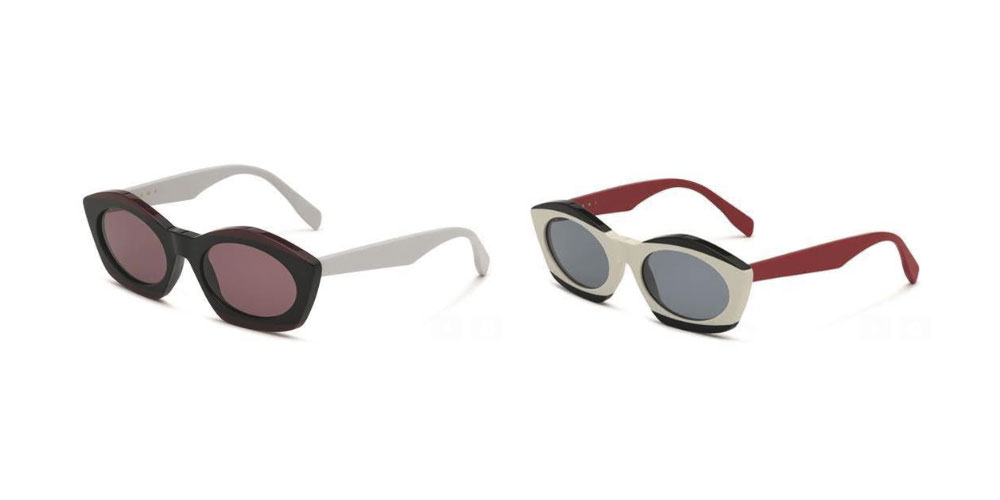 Marni presenta las nuevas gafas de sol «Bird's Eye»