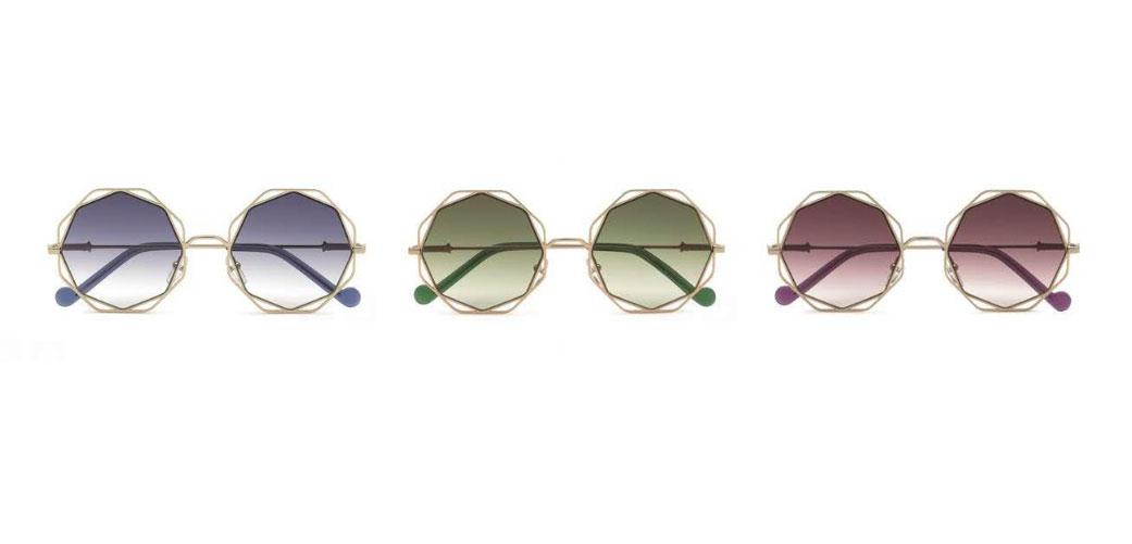 Personas con discapacidad auditiva patio Ponte de pie en su lugar  Liu·Jo Eyewear presenta un nuevo modelo de gafas de sol para mujer con  forma de estrella