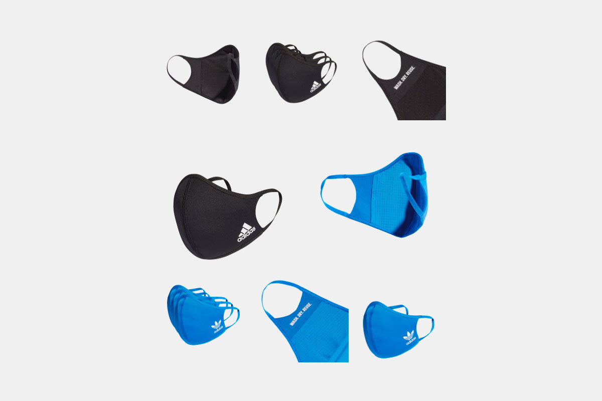 Adidas presenta sus mascarillas faciales