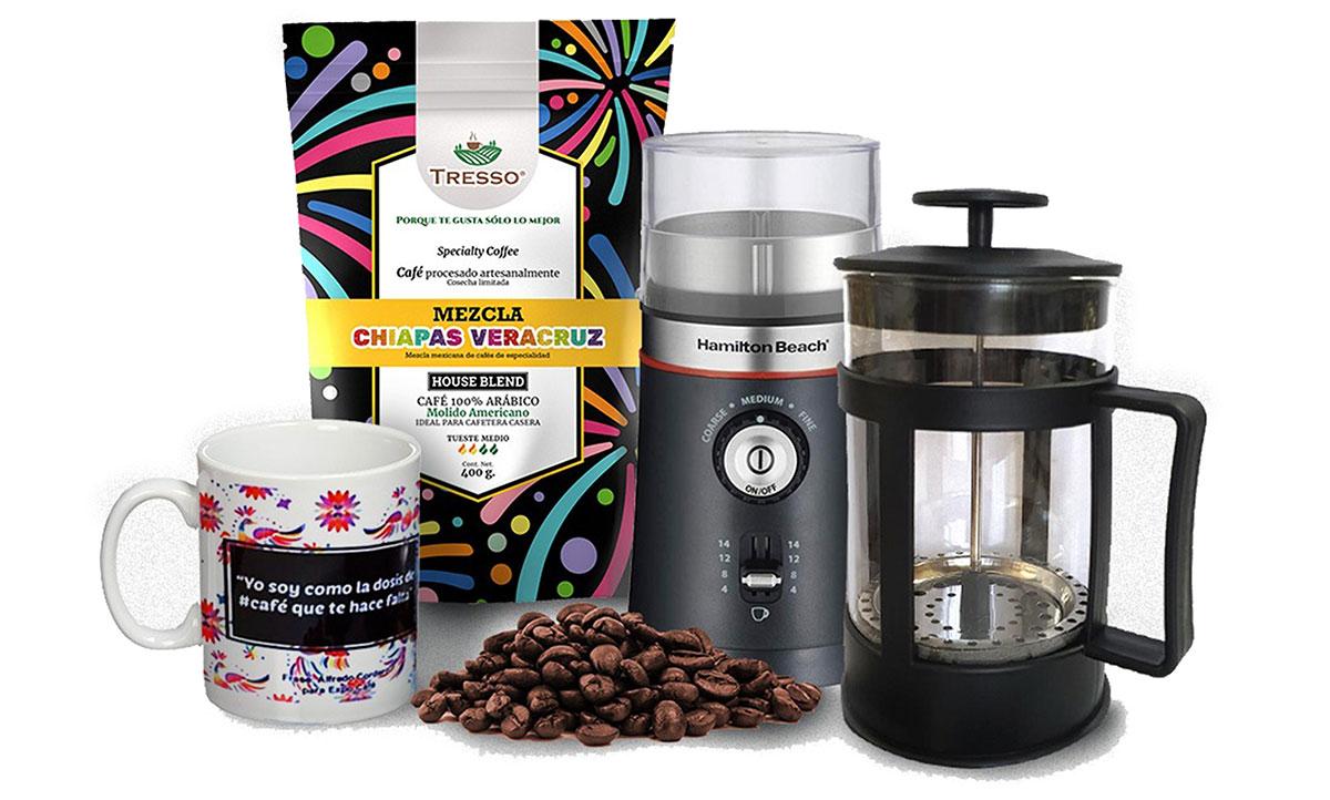 Este día del padre regálale un kit de caféde especialidad Tresso