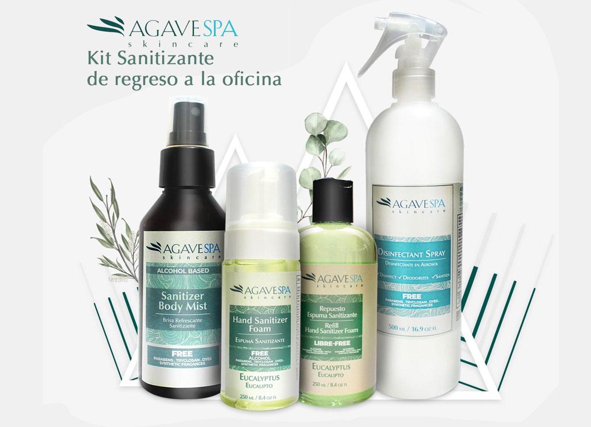 AgaveSpa lanza su exclusiva línea de productos sanitizantes