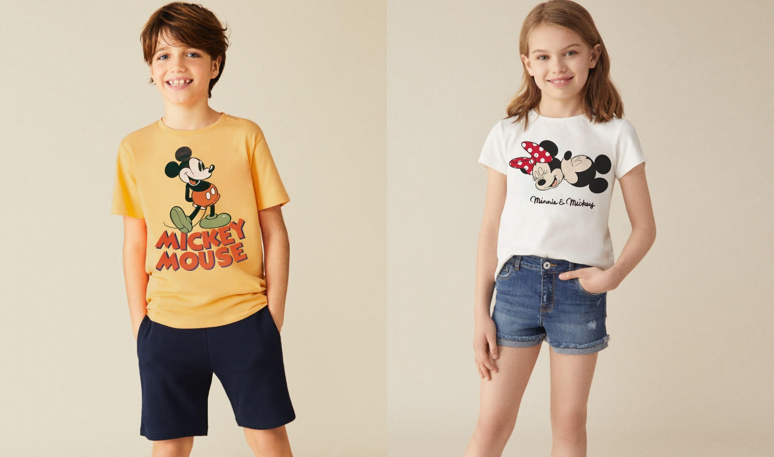 Lefties ¡Hey Mickey! Kids Collection Summer 2020