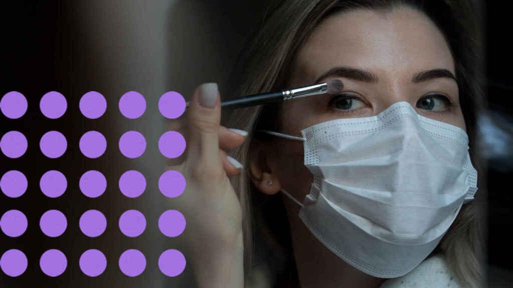 ¿Existe peligro de contagiarnos de Covid-19 al usar cremas y cosméticos?
